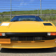 Yellow Italian sport car — Stock Photo