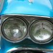 Stock Photo: Classic Americcar headlights