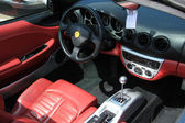 Luxury car interior — Stok fotoğraf
