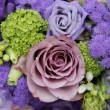 Bridal arrangement in different shades of purple — Stock fotografie