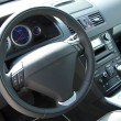 Modern car interior — Stockfoto