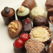 Luxury Belgium Chocolates — Stock Photo