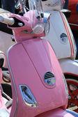 Pink retro scooter — Foto de Stock