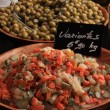 Olives at a french market — Stock Photo #30330687