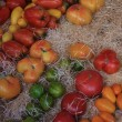 Tomatoes at a Provencal market — Stock Photo