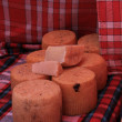 Cheese at a French market — Stock Photo #30339305