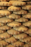 Stacked cookies — Stock Photo