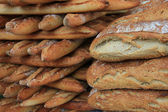 Fresh baguettes — Stock Photo