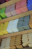 Bars of soap — Stock Photo