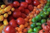 Pomidory prowansalskim rynku — Zdjęcie stockowe