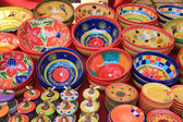 Colorful pottery — Stock Photo