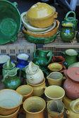 Кустарный керамика из Прованса — Стоковое фото