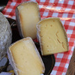 Cheese at a Provencal market — Stock Photo