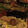 Olives at a French market — Stock Photo #31081189