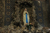 Holy Virgin Statue — Stock Photo