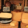 Cheese at a Provencal market — Foto Stock