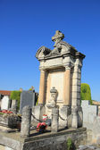 Ossuary at a French graveyard — Stock Photo