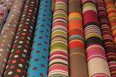 Rolls of textile — Stock Photo