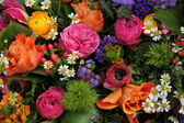 Mixed spring bouquet — Stock Photo