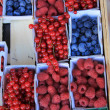 Stock Photo: Berries in boxes
