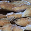 French bread at a market — Lizenzfreies Foto