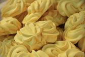 Yellow lemon meringue — Stock Photo