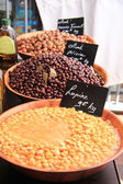 Olives at a french market — Stockfoto