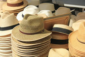 Panama hats — Stockfoto