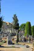 Old cemetery in the Provence — Zdjęcie stockowe