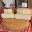 Cheese at a Provencal market — Stock Photo #32042393