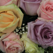 Pastel roses in bridal arrangement — Stock Photo #32621781