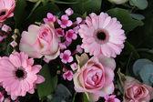 Pink Wedding arrangement — Stock Photo