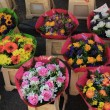 Colorful bouquets at a market — Stock Photo #33381389