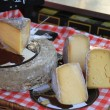 Cheese at a Provencal market — Stock Photo #33381443