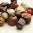 Decorated chocolates — Stock Photo #35370499