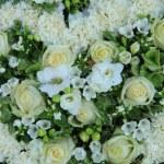 White wedding flowers — Stock Photo