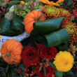 Thanksgiving Floral Decorations — Stock Photo #35555763