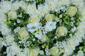 White wedding flowers — Stock Photo