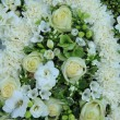 White wedding flowers — Photo