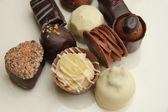 Cioccolatini decorati — Foto Stock