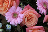 Pink Bridal Flowers — Foto de Stock