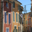 Colored houses in Provence — Stock Photo #38040583