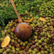 Olives at French market — Stock Photo #38040635
