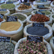 Herbs and spices at French market — Stock Photo #38040687