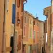 Colored houses in Provence — Stock Photo #38040745