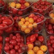 Small tomatoes at market — Stock Photo #38041185
