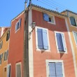 Colored houses in Provence — Stock Photo #41508833