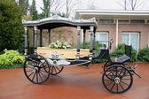 葬儀のキャリッジに関する棺します。 — ストック写真