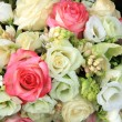Pink and white bridal arrangement — Stock Photo #44420033