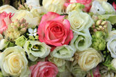 Pink and white bridal arrangement — Foto de Stock